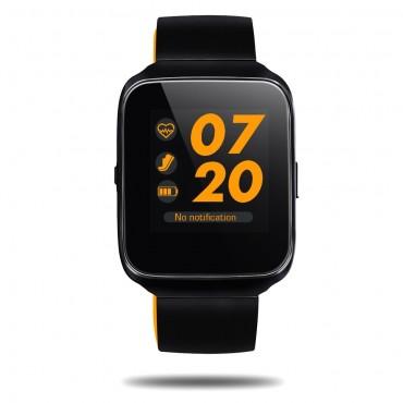 """Prémium Bluetooth okosóra """"Z40"""" iOS és Android készülékekhez - narancssárga"""