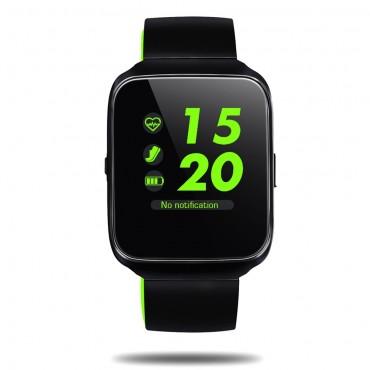 """Prémium Bluetooth okosóra """"Z40"""" iOS és Android készülékekhez - zöld"""