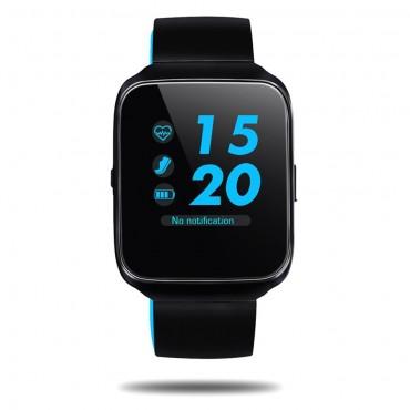 """Prémium Bluetooth okosóra """"Z40"""" iOS és Android készülékekhez - kék"""