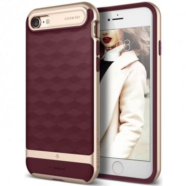 Tok Caseology Parallax Series iPhone 8 készülékekhez - burgundy