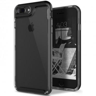 Caseology Skyfall Series védőtok iPhone 8 Plus készülékekhez – fekete