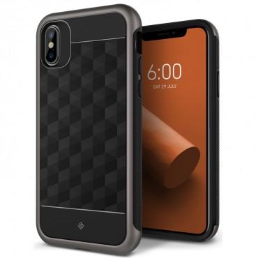 Caseology Parallax Series védőtok iPhone X készülékekhez – warm gray