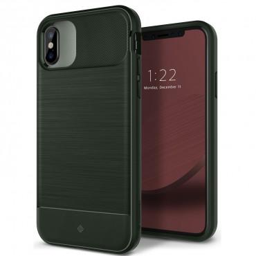 Caseology Vault Series védőtok iPhone X készülékekhez – pine green