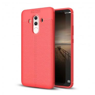 """TPU gél tok """"Gritty"""" Huawei Mate 10 Pro készülékekhez - piros"""