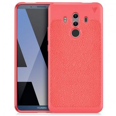 """TPU gél tok """"Gentry"""" Huawei Mate 10 Pro készülékekhez - piros"""