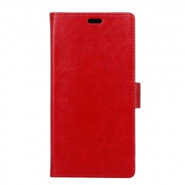 """Divatos """"Smooth"""" tárca Huawei Mate 10 Pro készülékekhez - piros"""
