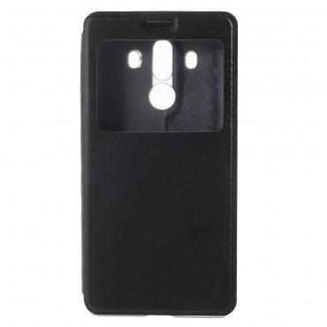 """Divatos """"Window"""" tárca Huawei Mate 10 Pro készülékekhez – fekete"""
