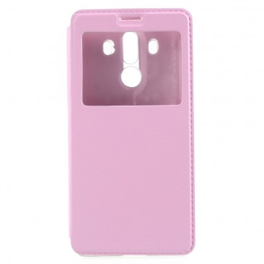 """Divatos """"Window"""" tárca Huawei Mate 10 Pro készülékekhez – rózsaszín"""