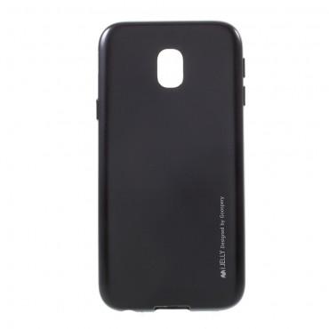 Goospery iJelly Case TPU géles védőtok Samsung Galaxy J3 2017 készülékekhez – fekete