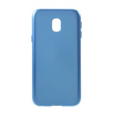 Goospery iJelly Case TPU géles védőtok Samsung Galaxy J3 2017 készülékekhez – kék