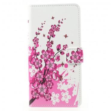 """Divatos """"Flower Bloom"""" tárca Huawei Mate 10 Pro készülékekhez"""