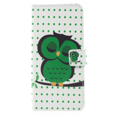 """Divatos """"Sleeping Owl"""" tárca Huawei Mate 10 Pro készülékekhez"""