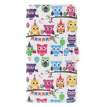 """Divatos """"Owl Group"""" tárca Huawei Mate 10 Pro készülékekhez"""