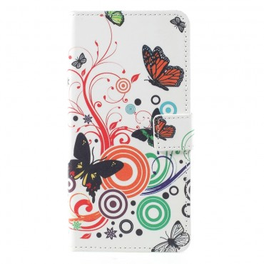 """Divatos """"Butterfly Song"""" tárca Huawei Mate 10 Pro készülékekhez"""