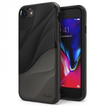 """Ringke """"Wave"""" védőtok iPhone 8 / iPhone 7 készülékekhez – metallic chrome"""
