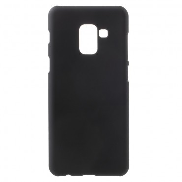 Kemény TPU védőtok Samsung Galaxy A8 2018 készülékekhez – fekete