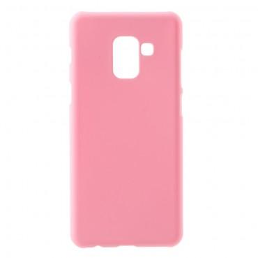 Kemény TPU védőtok Samsung Galaxy A8 2018 készülékekhez – rózsaszín