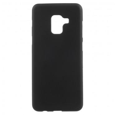 TPU géles védőtok Samsung Galaxy A8 2018 készülékekhez – fekete