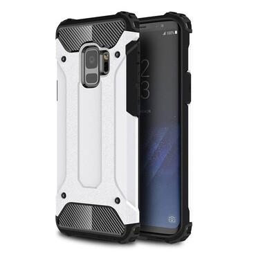 """Strapabíró """"Rock"""" védőtok Samsung Galaxy S9 készülékekhez – fehér"""
