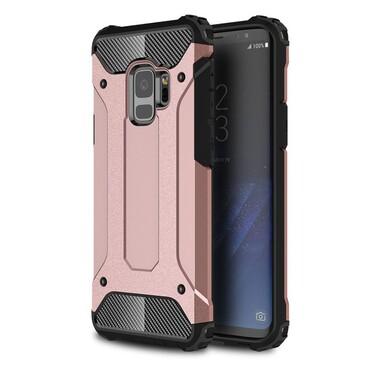"""Strapabíró """"Rock"""" védőtok Samsung Galaxy S9 készülékekhez – rózsaszín"""