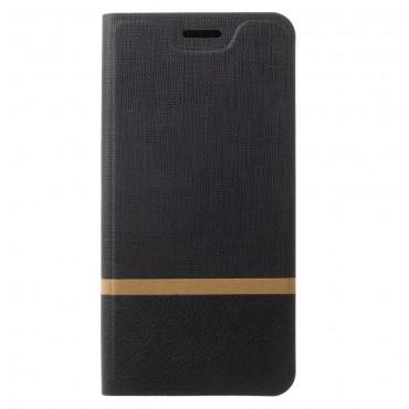 """Divatos nyitható tok """"Elegant Line"""" Samsung Galaxy S9 készülékekhez - fekete"""
