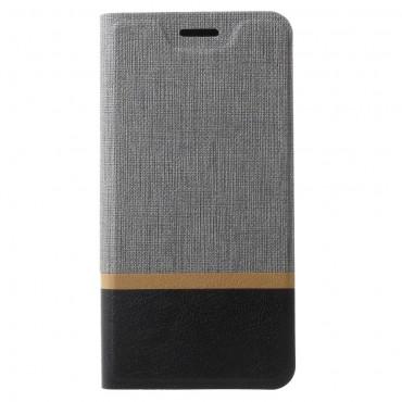 """Divatos nyitható tok """"Elegant Line"""" Samsung Galaxy S9 készülékekhez - szürke"""