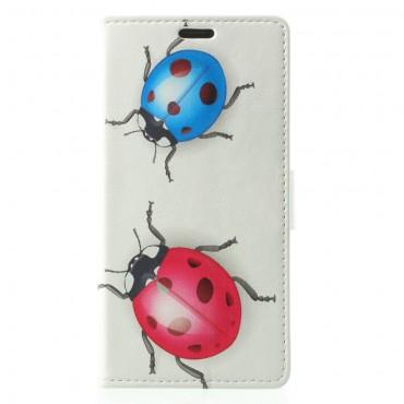 """Divatos """"Ladybugs"""" tárca Samsung Galaxy S9 készülékekhez"""