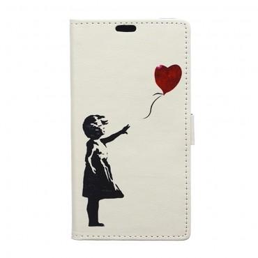 """Divatos """"Balloon Love"""" tárca Samsung Galaxy S9 készülékekhez"""