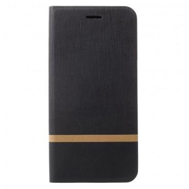 """Divatos nyitható tok """"Elegant Line"""" Samsung Galaxy S9 Plus készülékekhez - fekete"""