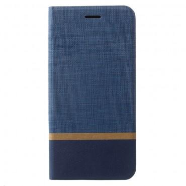 """Divatos nyitható tok """"Elegant Line"""" Samsung Galaxy S9 Plus készülékekhez - kék"""