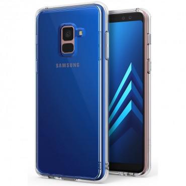"""Ringke """"Fusion"""" védőtok Samsung Galaxy A8 2018 készülékekhez - clear"""