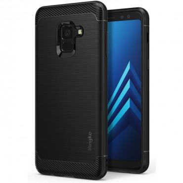 """Ringke """"Onyx"""" védőtok Samsung Galaxy A8 2018 készülékekhez – fekete"""