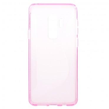 """TPU gél tok """"S-Line"""" Samsung Galaxy S9 Plus készülékekhez - rózsaszín"""