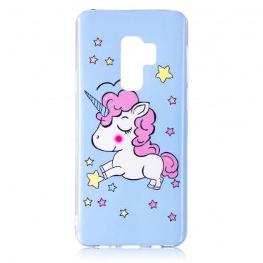 """Világító """"Unicorn"""" védőtok Samsung Galaxy S9 készülékhez"""