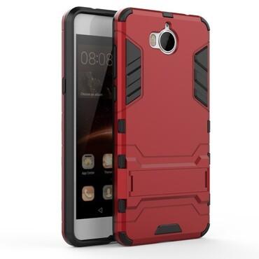 """Strapabíró """"Impact X"""" védőtok Huawei Y5 2017 / Y6 2017 készülékekhez – piros"""