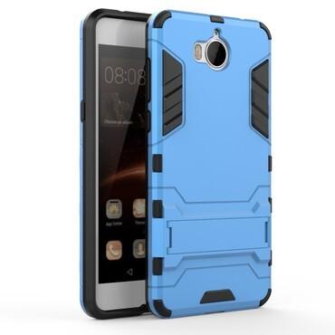 """Strapabíró """"Impact X"""" védőtok Huawei Y5 2017 / Y6 2017 készülékekhez – kék"""