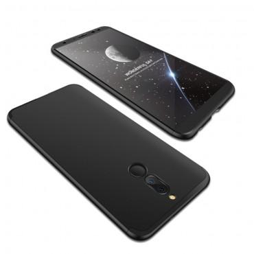 """Elegáns full body tárca """"Sleek"""" a Huawei Mate 10 Lite készülékhez – fekete"""