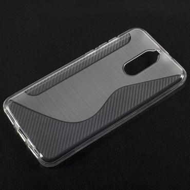 S-Line TPU géles védőtok Huawei Mate 10 Lite készülékekhez – átlátszó