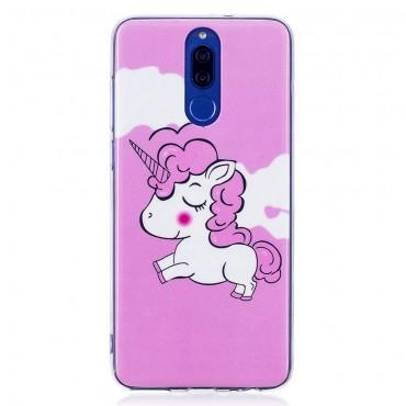 """Világító """"Unicorn"""" védőtok Huawei Mate 10 Lite készülékhez"""