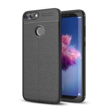 """TPU gél tok """"Gentry"""" Huawei P Smart készülékekhez - fekete"""