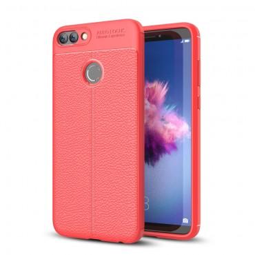 """TPU gél tok """"Gentry"""" Huawei P Smart készülékekhez - piros"""