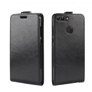 Divatos flip tárca Huawei P Smart készülékekhez – fekete