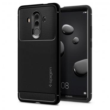 """Spigen """"Rugged Armor"""" védőtok Huawei Mate 10 Pro készülékekhez – fekete"""