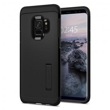 """Tok Spigen """"Tough Armor"""" Samsung Galaxy S9 készülékekhez - black"""