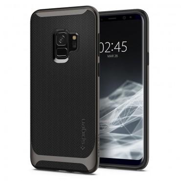 """Spigen """"Neo Hybrid"""" védőtok Samsung Galaxy S9 készülékhez – gunmetal"""
