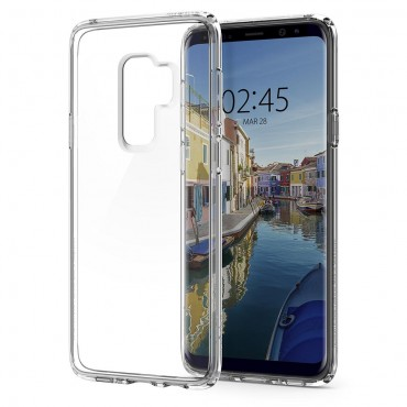 """Spigen """"Ultra Hybrid"""" védőtok Samsung Galaxy S9 Plus készülékhez – átlátszó"""