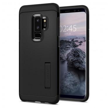 """Tok Spigen """"Tough Armor"""" Samsung Galaxy S9 Plus készülékekhez - black"""