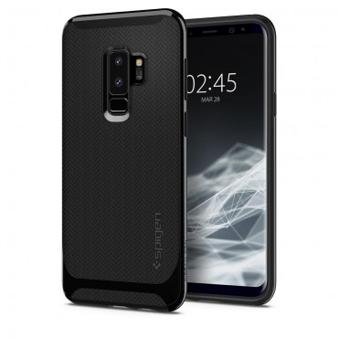 """Tok Spigen """"Neo Hybrid"""" Samsung Galaxy S9 Plus készülékekhez - shiny black"""
