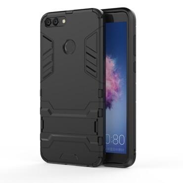 """Strapabíró """"Impact X"""" védőtok Huawei P Smart készülékekhez – fekete"""