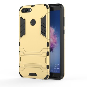 """Strapabíró """"Impact X"""" védőtok Huawei P Smart készülékekhez – aranyszínű"""